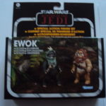 StarWars figurine : STAR WARS THE VINTAGE COLLECTION - EWOK SCOUTS WUNKA & WIDDLE WARRICK 2012 HASBR