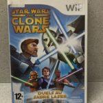 JEU Wii STAR WARS THE CLONE WARS AVEC NOTICE - jeu StarWars
