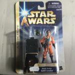 Figurine StarWars : Star Wars SAGA Dutch Vander Gold Leader Figure - Hasbro - 2004 - A New Hope