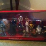 StarWars figurine : STAR WARS Disney Mega Figurine Set -20 figures- Includes Slave Leia, Jabba  MINT