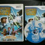 Jeu Nintendo Wii wiiu STAR WARS a CLONE WARS - jeu StarWars