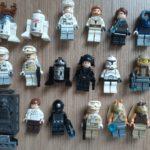 StarWars figurine : Lego star wars figurine personnage minifigure, lot à l'unité, modèle au choix