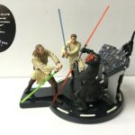 Figurine StarWars : star wars - diorama collector - qui-gon jinn et obi-wan kenobi vs darth maul