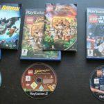 LOT 3 JEUX Sony PLAYSTATION 2 PS2 : LEGO - pas cher StarWars