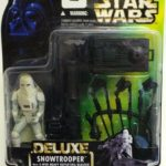 StarWars collection : STAR WARS POTF : Power of the Force Figurine Snowtrooper Deluxe