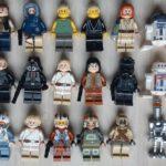 StarWars collection : Lego star wars figurine minifigure personnage, lot à l'unité au choix