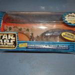 Figurine StarWars : STAR WARS VINTAGE (c)1998 - GIAN SPEEDER & THEED PALACE IMPORT USA (neuf)