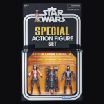 StarWars figurine : STAR WARS VINTAGE SERIES DOCTOR APHRA COMIC SET 2018 SAN DIEGO COMIC CON EXCLU
