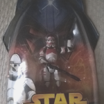 "Figurine StarWars : Star wars Figure Shock Trooper 2005 ""packaging error"" clone trooper europe"