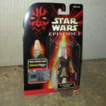 StarWars figurine : 1998 Star Wars Épisode 1 Ki-Adi-Mundi Commtech Chip Action Figurine Moc