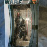 Figurine StarWars : STAR WARS - FIGURE COCK DARK MAUL 20CM TAITO