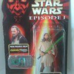 Figurine StarWars : Star Wars figurine Qui-Gon Jin Jedi duel
