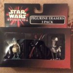 StarWars figurine : Star Wars Episode 1 Figurine Erasers 3 Pack Darth Maul Watto Sebulba Mint In Box