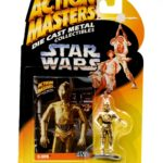 StarWars figurine : Star Wars Action Masters Die Cast Metal Collectibles - C-3PO Figurine