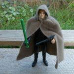 Figurine StarWars : Luke Jedi Knight / Star Wars vintage Kenner ROTJ loose complet Figurine 83*