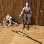StarWars collection : Star Wars The Last Jedi REY (JEDI TRAINING) Figure Force Link