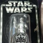 StarWars collection : Star Wars sandtrooper silver saga edition 2004