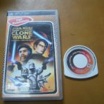 STAR WARS THE CLONE WARS  VF PSP boite cd  - Avis StarWars
