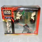 StarWars figurine : New Applause Star Wars Episode 1 Figurine Gift Set Theed Hangar Darth Maul