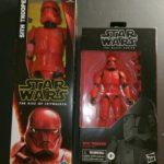 "StarWars figurine :  Star Wars Black Series 6"" Sith Trooper and 12"" Figure NEW MIB Free shipping."