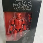 Figurine StarWars : Star Wars The Black Series 6 Inch Sith Red Trooper 2019 Figure Limited In Hand