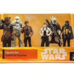 Figurine StarWars : Star Wars & Disney Solo: A Star Wars Story Han Solo 6 Piece Figurine Set New!!!