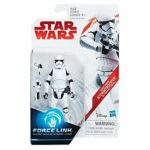 StarWars figurine : Star Wars Force Lien 9.5cm Figurine - First Order Stormtrooper