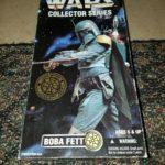 StarWars collection : Kenner Star Wars Boba Fett Collector Series 12 inch Figure NIB 1996
