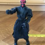 StarWars collection : Star Wars Darth Maul 12 inch Figurine (1999) Light-saber NOT included