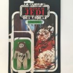 StarWars collection : Star Wars Le Retour du Jedi Figurine Vintage de Chef Chirpa 1983 + Cardback
