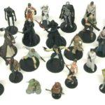 StarWars figurine : Disney Star Wars Movie Series Mega Figurine Large Bundle x 24 Character Figures