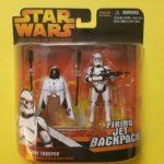 StarWars figurine : Figurine Star Wars Clone Trooper (Firing jet backpack )- Revenge Of The Siths