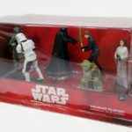 StarWars figurine : Disney Store Star Wars 6 Piece Figurine Set Darth Vader Yoda Boba Fett Luke New