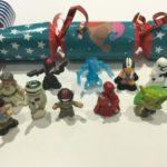 StarWars figurine : Star Wars Mini Figurines Rempli Noël Pétards - Jouets - Luke Yoda