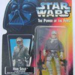 StarWars figurine : Star Wars puissance Force Figurine Han Solo Hoth Engrenage Japan
