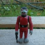StarWars collection : Red Snaggletooth  / Star Wars vintage Kenner ANH loose complet Figure 78*