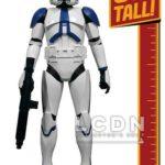 StarWars collection : Star Wars 501st Legion Clone Trooper 31 inch 78cm Jakks Pacific
