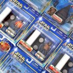 StarWars collection : Star Wars Saga 2002 (Bleu) Emballé Figurine Paquets - Moc - Voir Photos