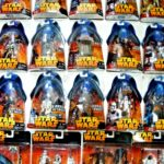 Figurine StarWars : Star Wars Rots Emballé Figurines 2005 - Moc - Voir Photos
