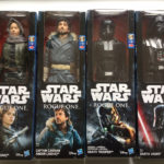 StarWars figurine :  4 figurines STAR WARS 30cm Darth Vader/Captain Cassian Andor/Death Trooper +