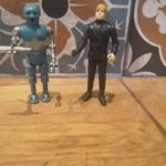 Figurine StarWars : Lot Vintage Figurines Star Wars robot medical  2-1B 1980 Luke 1983