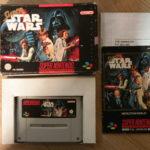 Super Nintendo Game * SUPER STAR WARS * - Bonne affaire StarWars