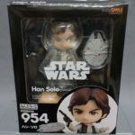 StarWars figurine : Nendoroid Star Wars Episode 4 A New Hope Han Solo Good Smile Company Japan New**
