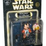 StarWars figurine : Disney Star Wars Tours Mickey Mouse comme Luke X-Wing Pilote Figurine - ( Série