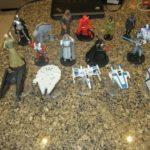 StarWars figurine : Star Wars Figurines/Diecast ships - 17 Total Figures