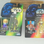 Figurine StarWars : NEW Lot of 2 Star Wars Power Of The Force Figurines, C-3PO and Grand Moff Tarkin