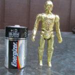 Figurine StarWars : Vintage 1977 Star Wars C3PO Hong Kong Poseable Figurine Toy Original Loose RARE