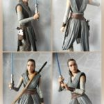 StarWars figurine : Star Wars Série Noire The Last Jedi Rey 15.2cm Figurine