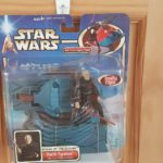StarWars collection : STAR WARS DARTH TYRANUS ATTACK OF THE CLONES FIGURINE WITH FORCE FLIPPING ACTION