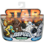 StarWars figurine : Star Wars Galactic Heroes Chewbacca & Clone Trooper Hasbro Figurine Set
